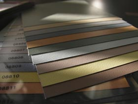 Rollers Blinds colours